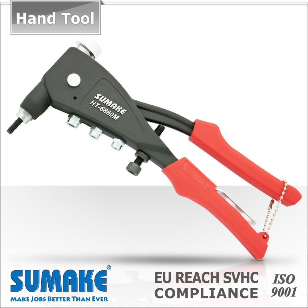 Threaded Mandrel Stroke Short Type Adjuster Hand Rivet Nut tool