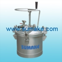 AIR PRESSURE FEED TANK(MANUAL TYPE; WITHOUT WHEEL) - STAINLESS STEEL
