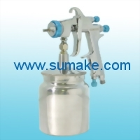 HVLP SUCTION TYPE AIR SPRAY GUN WITH 600CC ALU. CUP