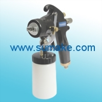 HVLP Air Suction Spray Gun W/250c.c. Plastic Cup(For tanning system)
