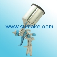 LVLP GRAVITY TYPE AIR SPRAY GUN WITH 600CC ALU. CUP
