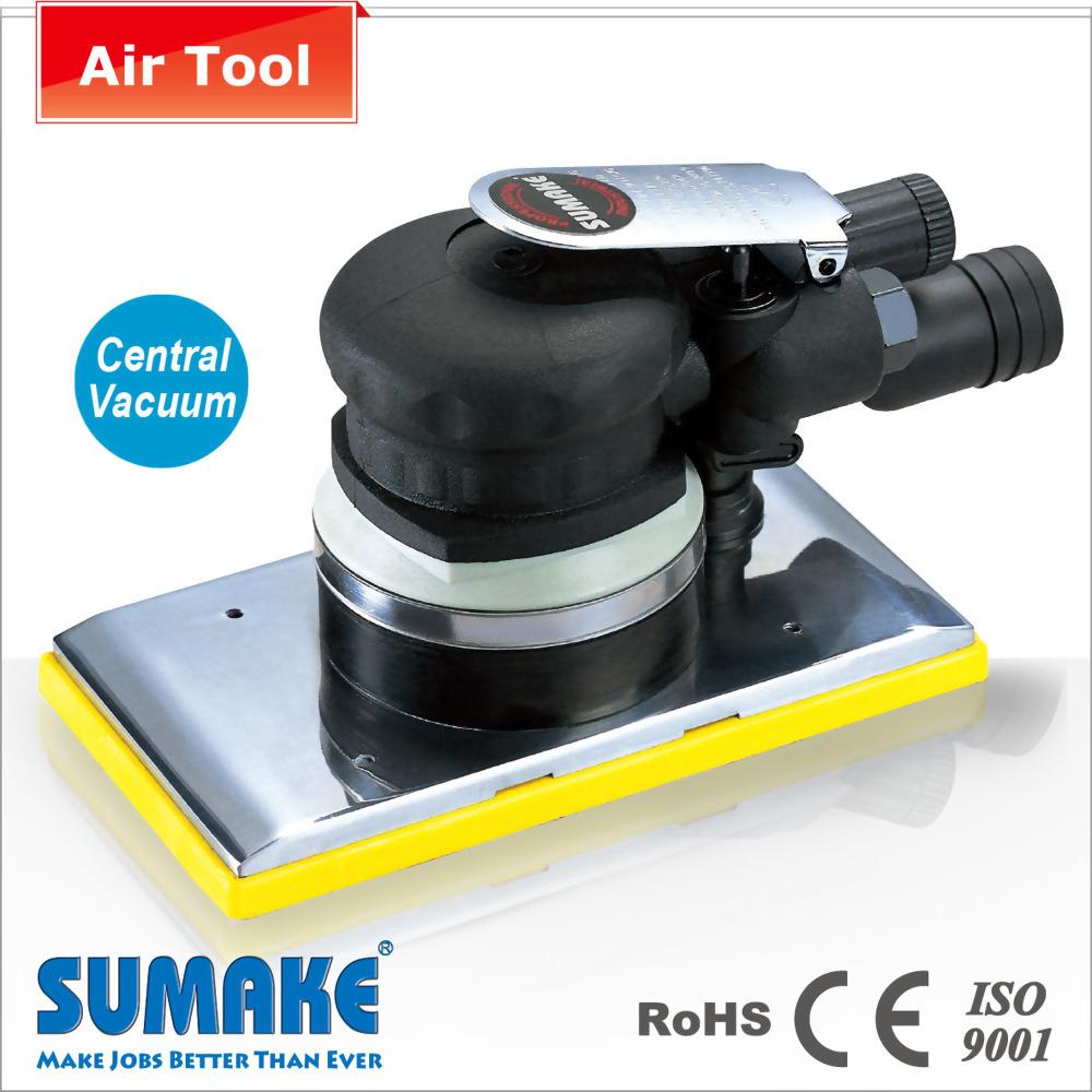 Central-Vacuum Tri Sander w/Hook Pad
