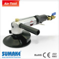 "Pneumatic water fed sander with 5"" pad"