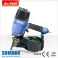 WIRE/PLASTIC-COLLATED HEAVY DUTY AIR COIL NAILER