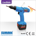 18V Brushless full auto shut off cordless screwdriver with 3.1Ah Li-ion battery set (without charger)