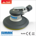 Hook face/central vacuum orbital sander - aluminum housing