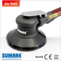 Vinyl face/self generated vacuum orbital sander - plastic housing