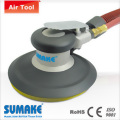 VINYL FACE/SELF GENERATED VACUUM ORBITAL SANDER - ALUMINUM HOUSING