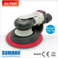"Industrial Low Profile Air Random Orbital Sander -Central-Vacuum , 6""Pad"