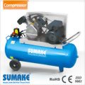 3HP AIR PUMP; 3HP MONO PHASE ALUMINUM MOTOR WITH 100L TANK AIR COMPRESSOR