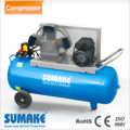 4HP Belt Type Air Compressor - 4HP Tri. Phase Iron Motor; 90L Tank (CE)