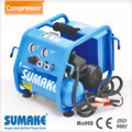 PORTABLE DC AIR COMPRESSOR WITH 4L TANK & TOOL BOX