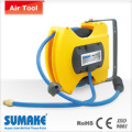 AIR HOSE REEL PU REIN FORCED HOSE WITH MALE FITTING