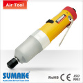 High/ low pressure auto shut-off air oil pulse assembly straight light screwdriver