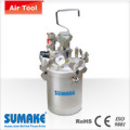 AIR PRESSURE FEED PAINT TANK(AUTO TYPE) ¡VSTAINLESS STEEL