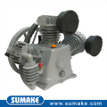 Belt driven 2 stage cast iron Industrial air compressor pump