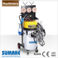 48L INDUSTRIAL TWO MOTOR VACUUM CLEANER WITH IRON TROLLEY, WORKING BENCH