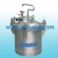AIR PRESSURE FEED TANK¡V STAINLESS STEEL