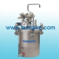 AUTO AIR PRESSURE FEED TANK (DOME TYPE)¡VSTAINLESS STEEL