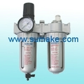 "3/8"" Pneumatic filter regulator lubricator"