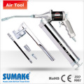 6PC ANGLE-FREE ROTATING CONT. AIR GREASE GUN (400cc) KIT