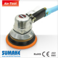 "6""air self vacuuming dust free d/a sander w/6"" velcro pad"