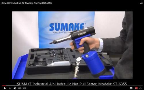 Industrial Air Riveting Nut Tool ST-6355