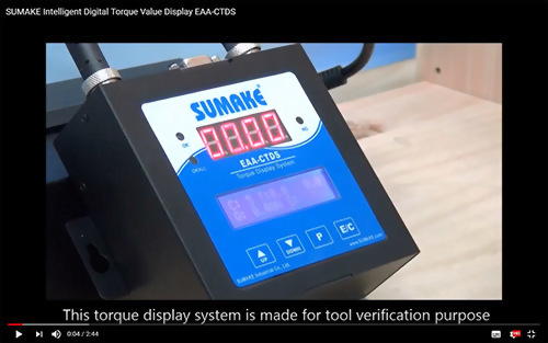 Intelligent Digital Torque Value Display EAA-CTDS