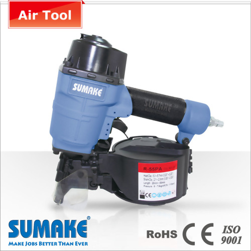 "2-1/4""(57MM), WIRE-COLLATED 15° COIL NAILER"