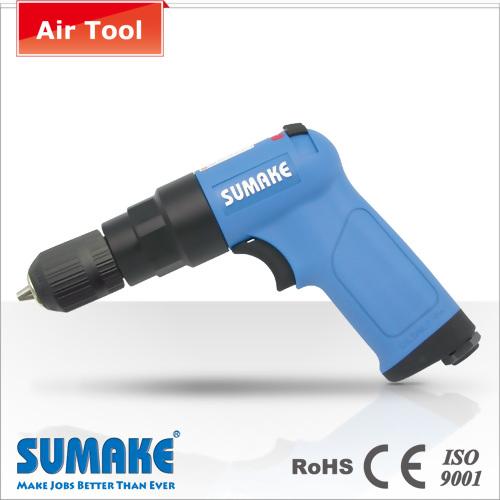 """Keyless 3/8"""" professional Reverse Air repair drill"""