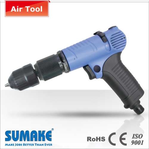 Trigger Start 3 in 1 Air Drill & Screwdriver-Cushion type,0.5~5.0 Nm, Light Weight