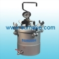 AIR PRESSURE FEED PAINT TANK ¡VSTAINLESS STEEL