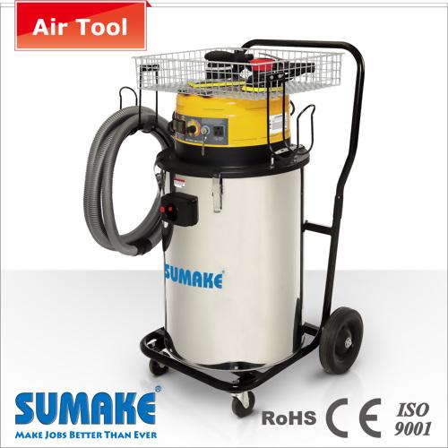 空気圧&電動工具用80L用掃除機、W /バスケット