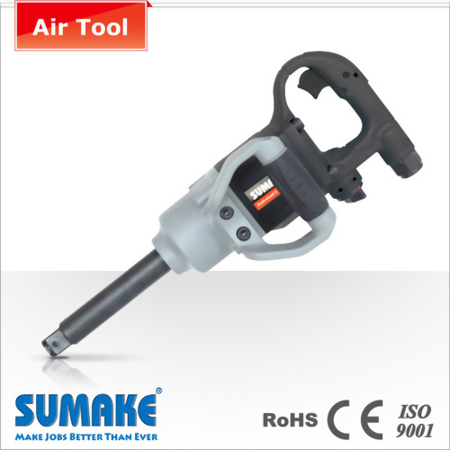 """3/4"""" Light Weight Air Twin Hammer Impact Wrench W/6"""" EXT. Anvil"""