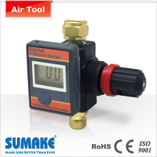 Air Regulator With Digital Gauge-Plastic Body