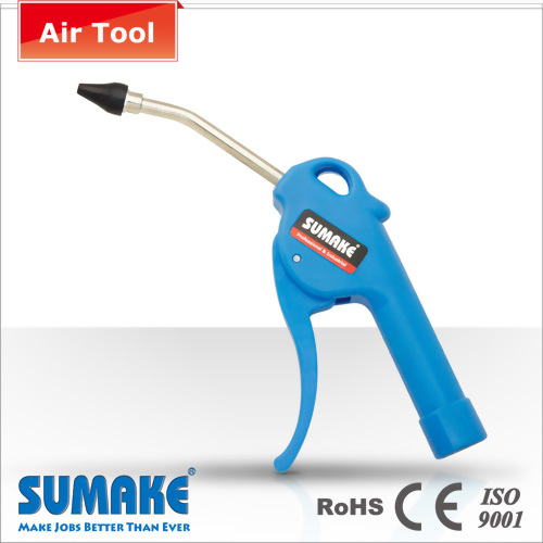 11mm PVC Tip Rubber Head Zinc Thread Air Blow Gun