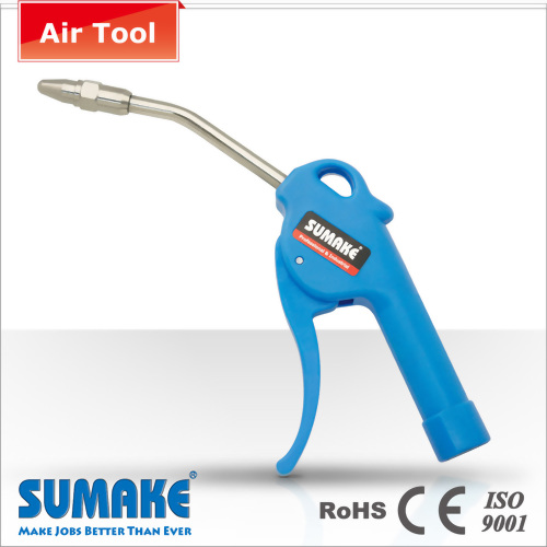 13mm PVC Tip Safety Head Zinc Thread Air Blow Gun