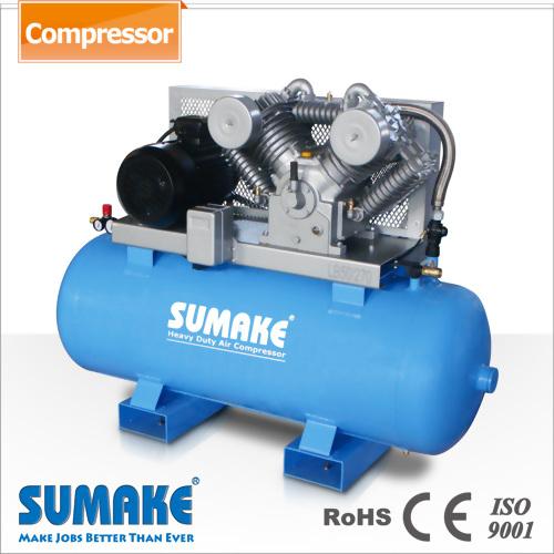 10HP Dos etapas Tipo de correa Compresores de aire