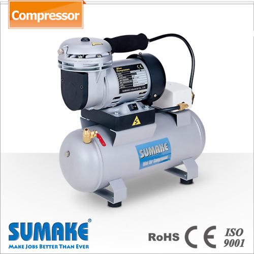 3.5Lタンク、圧力スイッチ付き1/6HPミニエアーコンプレッサー