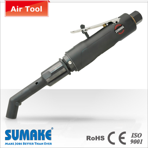 Industrial compact air right angle drill