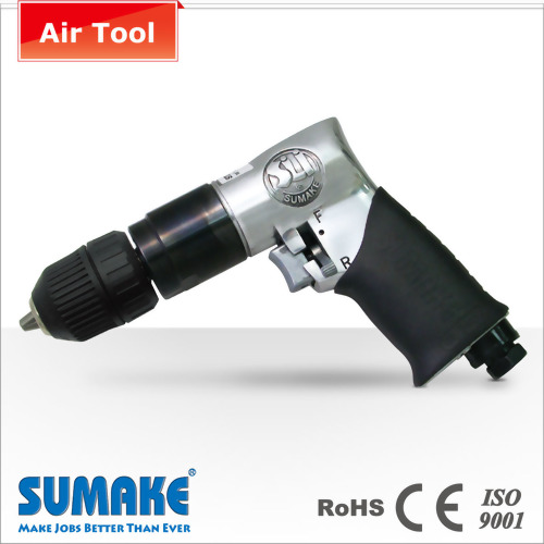 "3/8"" Professional keyless air reversible drill"