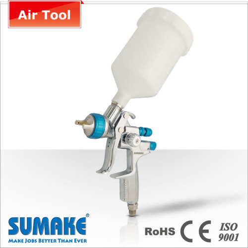 600CC PLASTIC CUP MIDDLE PRESSURE GRAVITY TYPE AIR SPRAY GUN