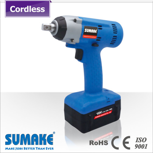 "1/2"" 18V cordless li-ion battery impact wrench, power tools"