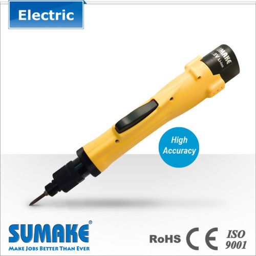Brushless Full Auto Shut-off Cordless Electric Screwdriver- 0.3-2.0N.m, Lithium-ion Battery