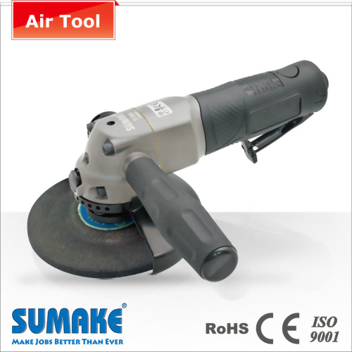 "4"" Heavy Duty Angle Air Grinder w/Turnable Disc Protection"