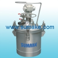 AIR PRESSURE FEED TANK(AUTO AGITATING)¡V STAINLESS STEEL