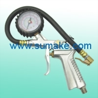 TIRE INFLATOR W/GAUGE (220PSI)