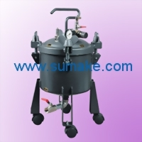 10L. DOME TYPE PRESSURE FEED TANK