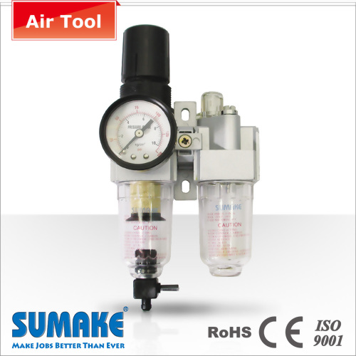 "1/8"" MINI AIR FILTER;REGULATOR & LUBRICATOR"