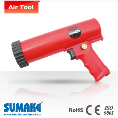 Air caulking plastic gun
